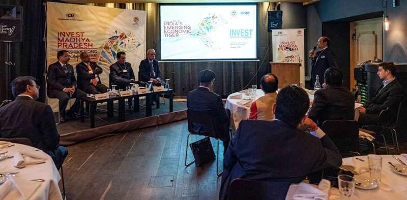 CM Kamalnath in Davos